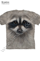 Футболка Raccoon Face