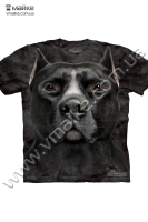 Футболка Black Pitbull Head